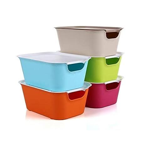 Egab Cloth Toy Underwear Cosmetic Organizer Vegatable Storage Box (3 PCS)