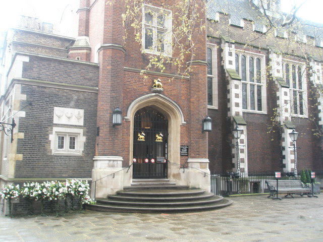 Entrance To Middle Temple Hall Basher Eyre Geograph