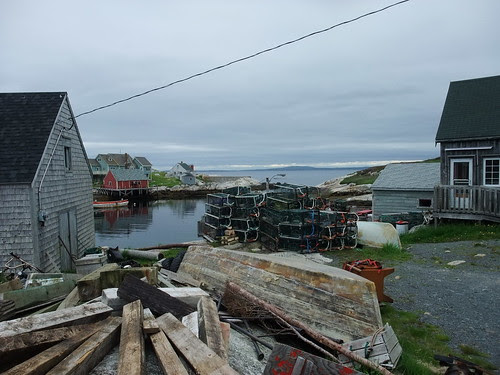 Peggy's Cove traps