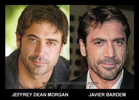 Javier Bardem parecido a Jeffrey dean morgan
