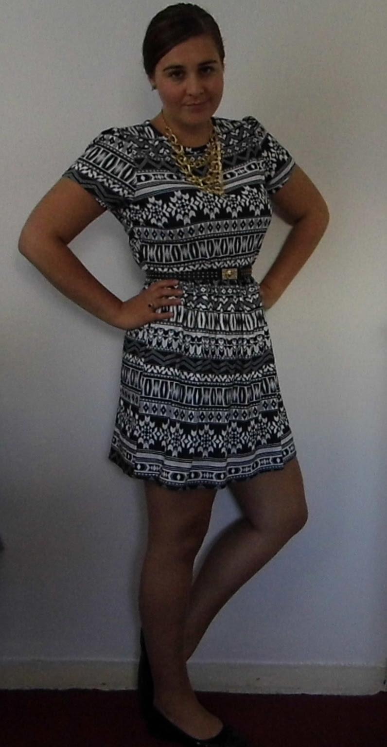 Clothing At Tesco Aztec dress