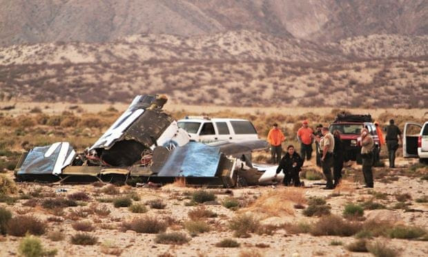 SpaceShipTwo crash