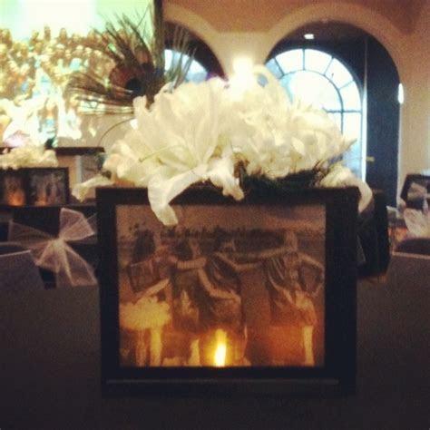 DIY picture frame centerpiece   Decoration Ideas