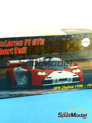 Maqueta de coche 1/24 Fujimi - McLaren F1 GTR Marlboro Nº 6 - Owen Jones + Pierre Henri Raphanel + David Brabham - BPR Zhuhai 1996 - maqueta de plástico