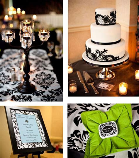 bride.ca   Classic Wedding Colours: Black & White!