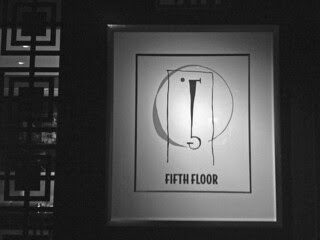 Fifth Floor - Sign