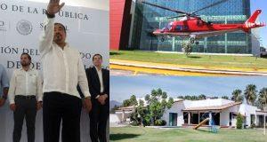 Se disculpó por uso de helicóptero oficial  y reaparece Alejandro Avilés