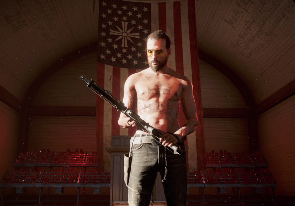 First Far Cry 5 gameplay is all about the boom boom boom screenshot