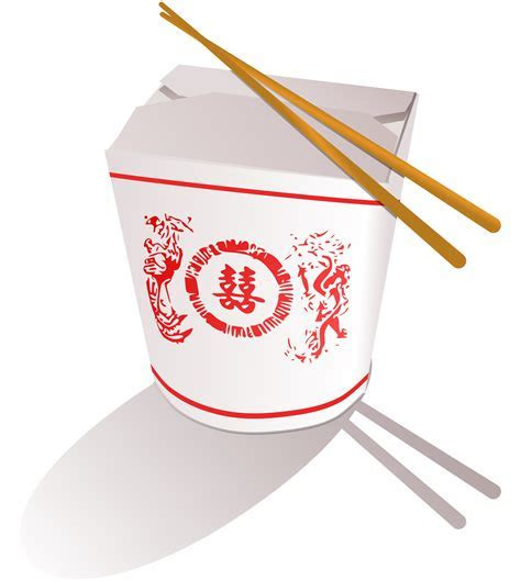 Clipart   Chinese Fast Food