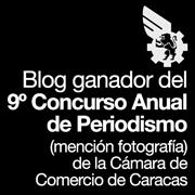 Award/Premio 2013: Cámara de Comercio de Caracas