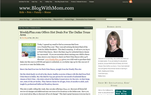 The Mom Blog