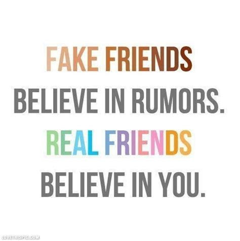 Facebook Quotes About Real Friends