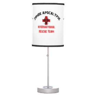 Zombie Apocalypse Table Lamp Walking Undead Dead