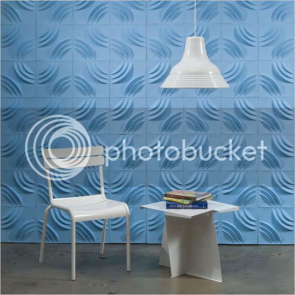 ripple paper form, blue