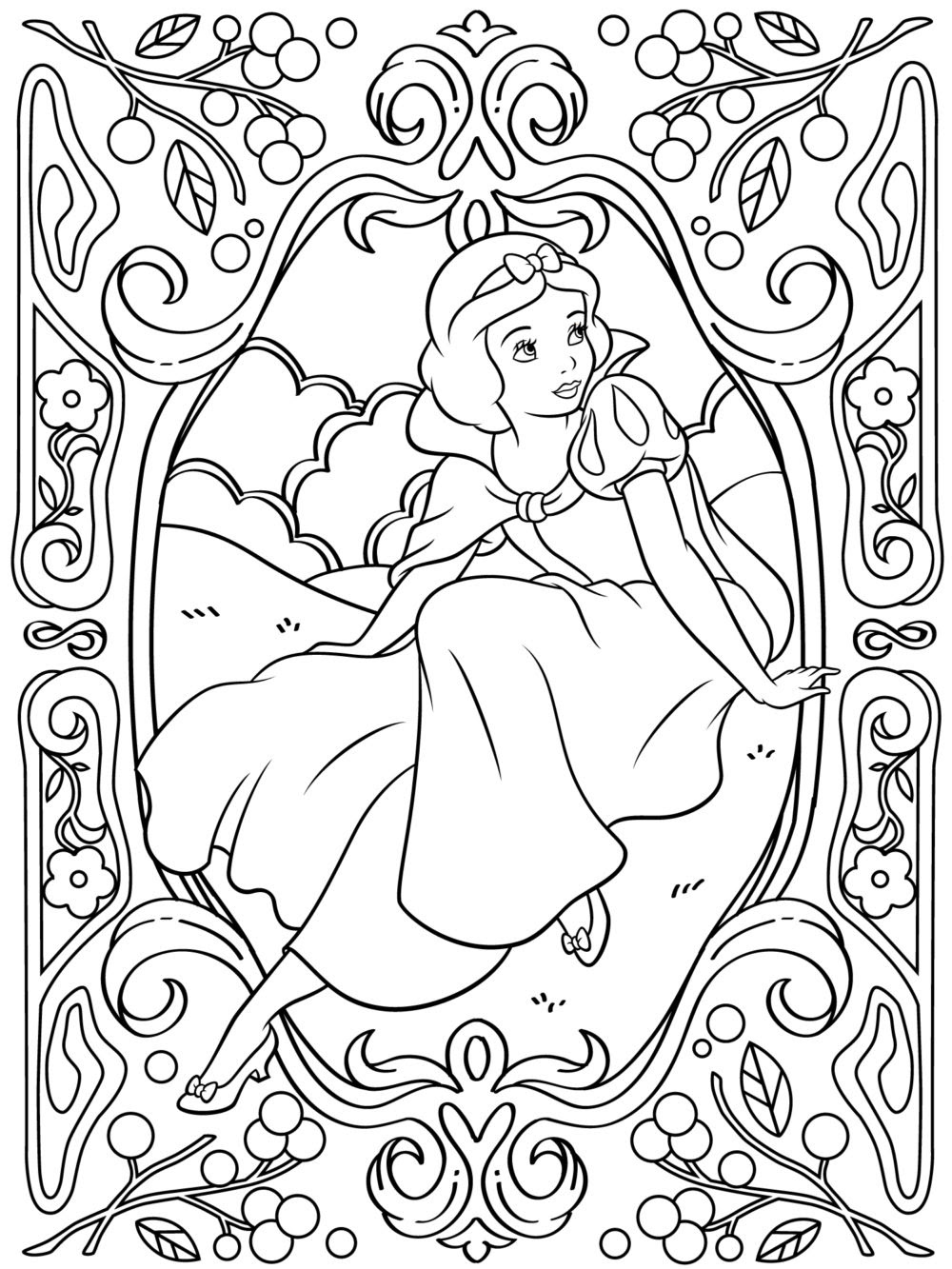 Coloring Pages For Adults Disney at GetColorings.com ...