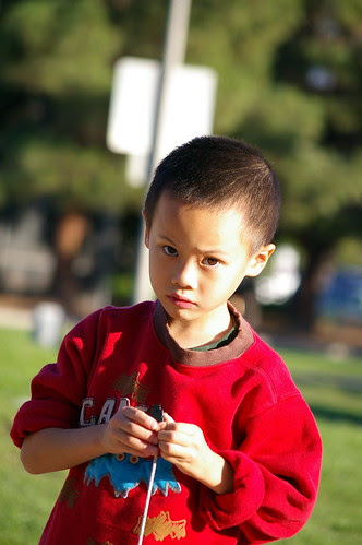 Wesley in Cupertino taken with Pentax DA 50-200