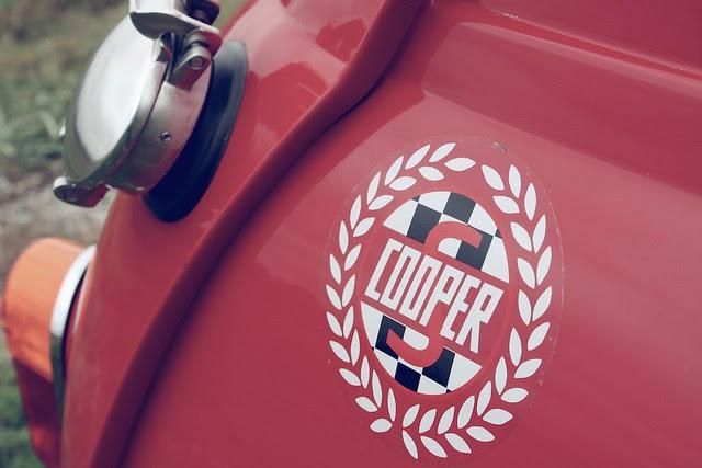 Mini Cooper gas tank