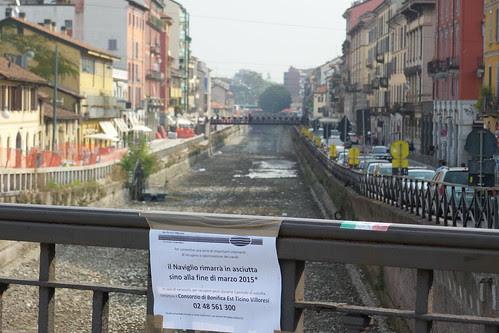 #Naviglio, asciutto fino a #Marzo2015 by Ylbert Durishti
