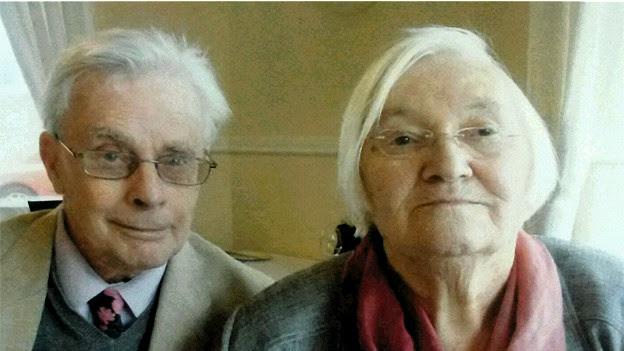 Edmundo e Margaret Williams. Arquivo pessoal