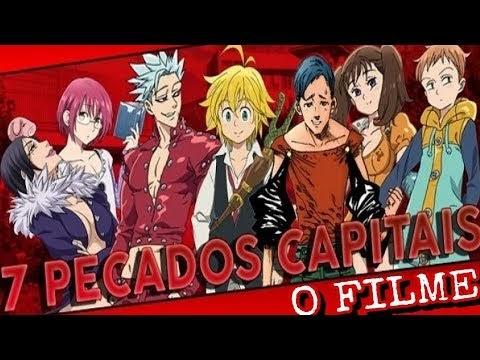 Filme Dos Sete Pecados Capitais Anime