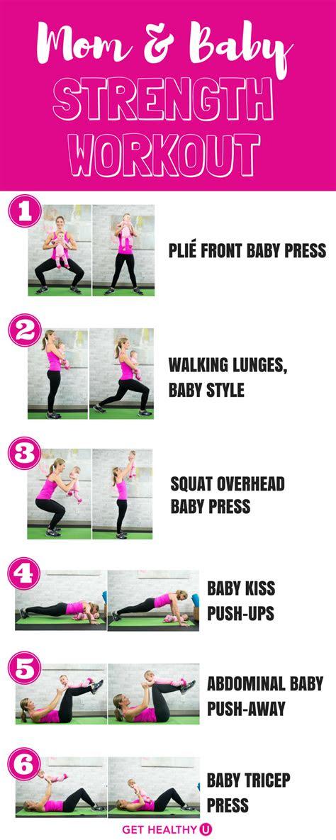 mom  baby strength workout    home braelynn