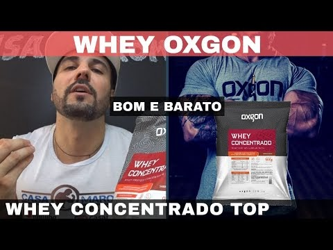 WHEY CONCENTRADO OXGON UM WHEY BOM E BARATO DE ÓTIMO CUSTO BENEFÍCIO