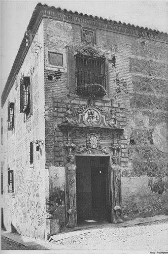 Colegio de Infantes (Toledo) a principios del siglo XX. Foto Rodríguez