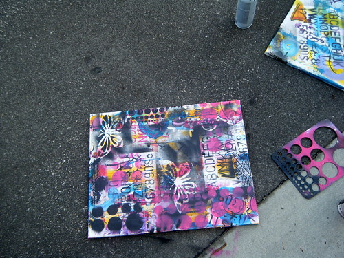 Graffiti Glam Class at Swank