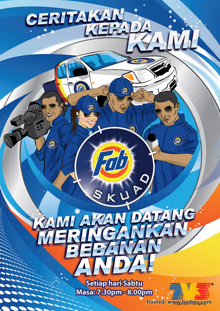 SKUAD FAB - Poster