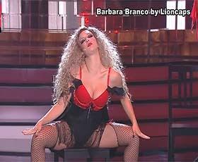 Barbara Branco sensual no A Tua cara não é estranha