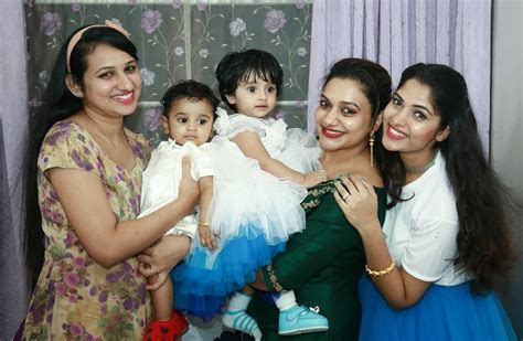 In photos: Actress Muktha's daughter Kanmani's first