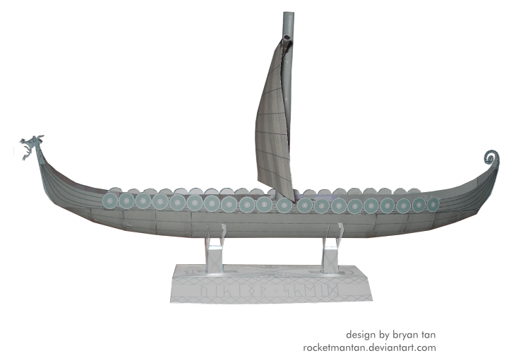 Free Viking Ship Model Plans how to make a toy wooden boat