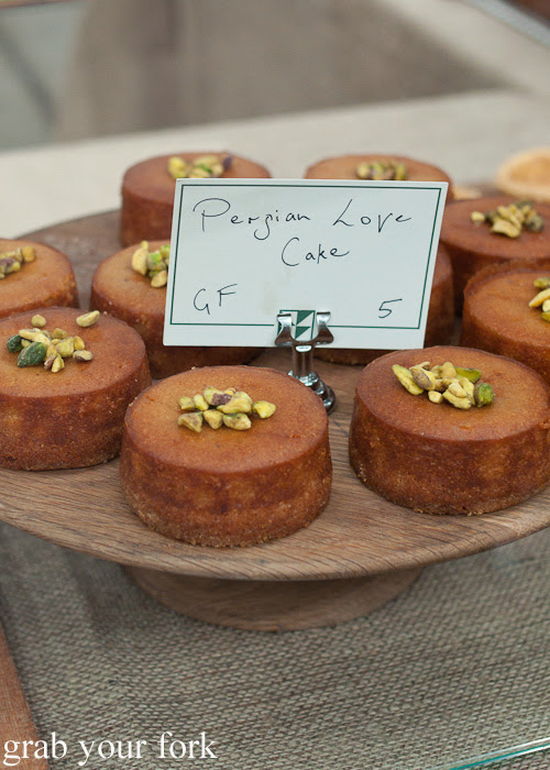 Persian love cake from Brickfields at the Sunday Marketplace, Rootstock Sydney 2014