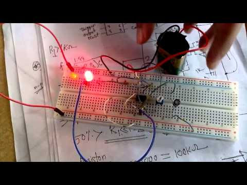 The 555 Timer IC practical Example with Circuit Diagram and Video Demonstration