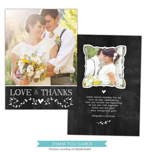 Wedding Thank You Card   Thanks note ? Birdesign
