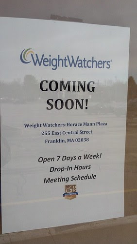 Weight Watchers - coming to Franklin, MA