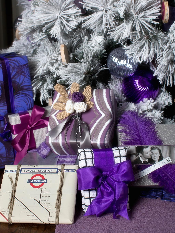 HGTV Modern Holiday Color Palette Lavender Grey Violet 6
