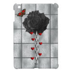 Black Rose Of Love Cover For The iPad Mini