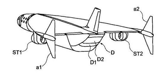 Airbus registra patente de avião-foguete