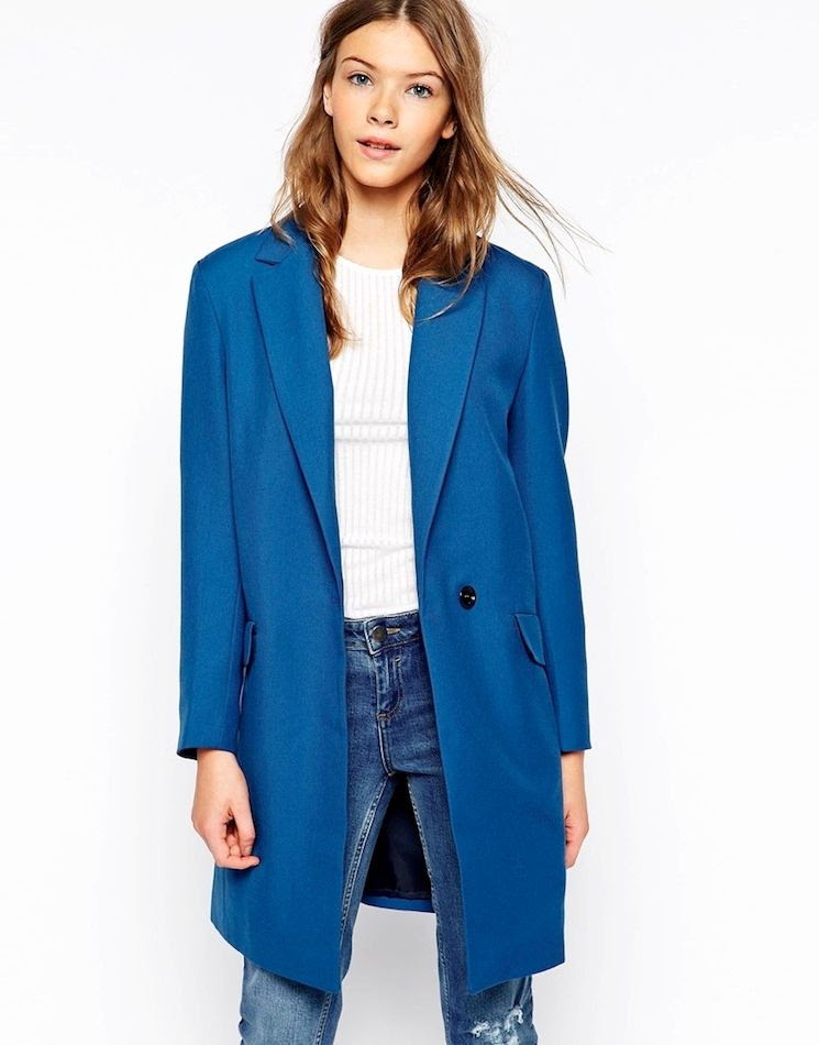 Le Fashion Blog 5 Cool Classic Coats Cooper Stollbrand Lazy Cocoon Coat Bright Blue Teal Wavy Hair White Top Jeans Oversized Boyfriend Blazer photo Le-Fashion-Blog-5-Cool-Classic-Coats-Cooper-Stollbrand-Lazy-Cocoon-Coat-Bright-Blue-Teal-Wavy-Hair-White-Top-Jeans.jpg