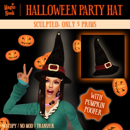 Magic Nook - Halloween Party Hat