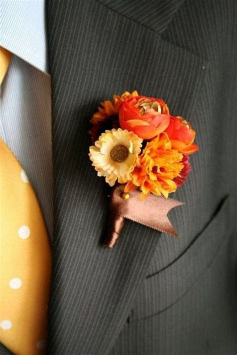 50 Fall Wedding Boutonnieres for Every Groom ? Page 4 ? Hi