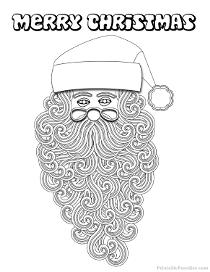 printable christmas coloring pages  free christmas color sheets