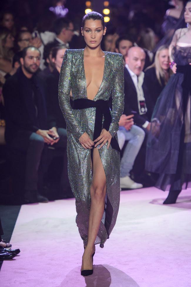 duelo de estilos selena gomez bella hadid vestido alexandre vauthier
