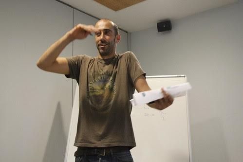 Ekain Larrinaga Muguruza en IdentiBuzz en Getxo