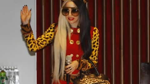 Lady Gaga has her day in Taiwan
