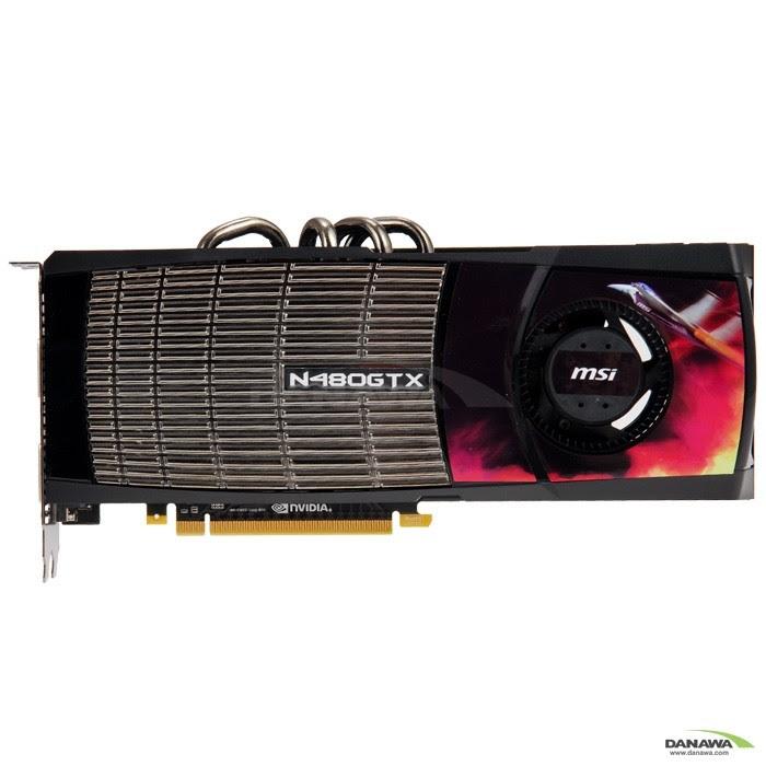 MSI  지포스 GTX480 N480GTX-M2D15 D5 1.5GB + Mini-HDMI_이미지