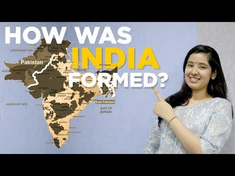 How was India Formed