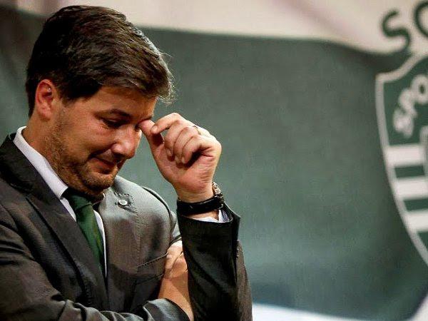 """Resultado de imagem para Bruno de Carvalho pede desculpa e diz que é hora de """"baixar a cabeça"""""""