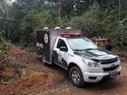 Trio é morto, amarrado e encapuzado (Thiago Guedes/TV Amazonas)